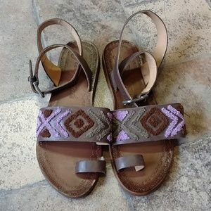 NWOT Free People Torrence sandals size 38